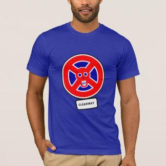 T-shirt Route à stationnement interdit de Roma