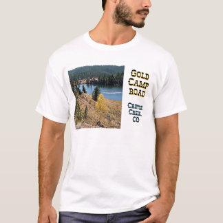 T-shirt Route de camp d'or