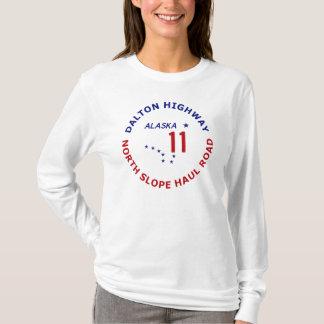 T-shirt Route de Dalton, route du nord de transport de