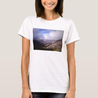 T-shirt Route de serpentine de montagne de Salta avec de