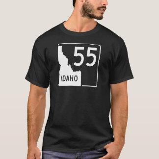 T-shirt Route nationale 55 de l'Idaho