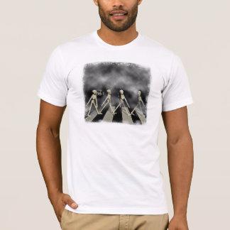 T-shirt Route squelettique