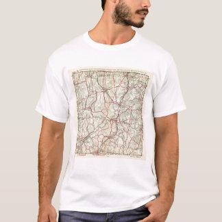 T-shirt Routes de bicyclette à New York et Connecticut 12