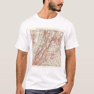 T-shirt Routes de bicyclette à New York et Connecticut 3