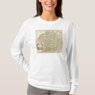 T-shirt Routes postales d'Eurupoe