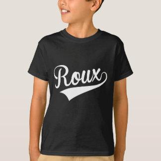 T-shirt Roux, rétros,