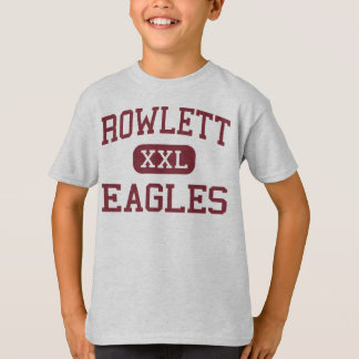 T-shirt Rowlett - Eagles - lycée - Rowlett le Texas