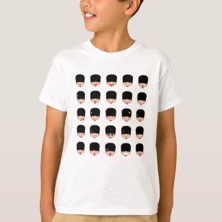 T-shirt royal d'Emojis de la garde 25