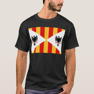T-shirt Royaume de drapeau de la Sicile