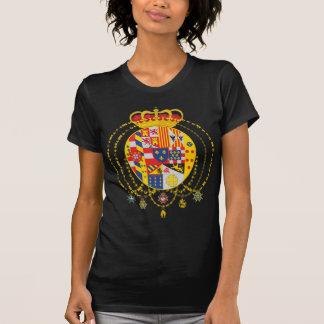 T-shirt Royaume du manteau de deux Sicilies des bras