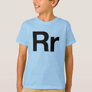 T-shirt Rr helvetica