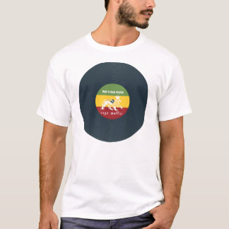 T-shirt Rubadub de vinyle