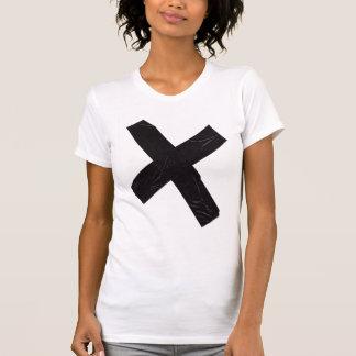 T-shirt ruban adhésif