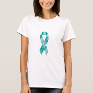 T-shirt Ruban de Cancer ovarien de traitement