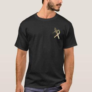 T-shirt Ruban de conscience d'endométriose