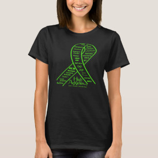 T-shirt Ruban de santé mentale