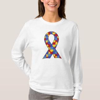 T-shirt Ruban de sensibilisation sur l'autisme