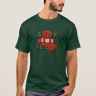 T-shirt Ruban de service de vétéran de l'Irak, ARMÉE