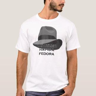 T-shirt Ruban large gris de Fedora