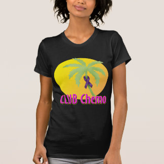 T-shirt Ruban pourpre