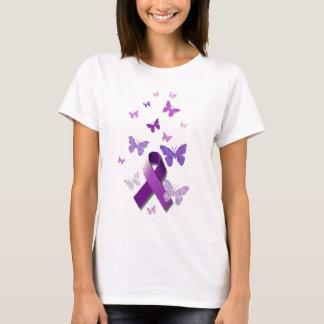 T-shirt Ruban pourpre de conscience