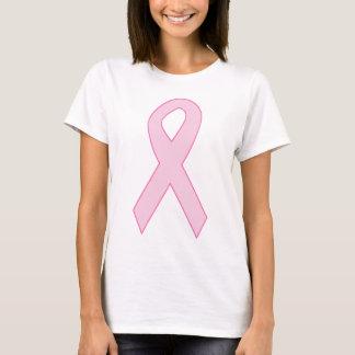 T-shirt Ruban rose de conscience