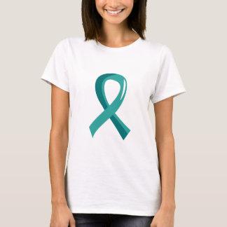 T-shirt Ruban turquoise 3 de Cancer ovarien
