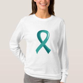 T-shirt Ruban turquoise 3 de PCOS