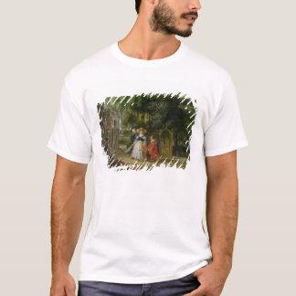 T-shirt Rubens et Helene Fourment dans le jardin