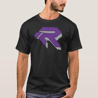 T-shirt RUBIS 3D - POURPRE et GRIS