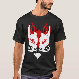 """T-shirt RUDOS """"nous aimons pièce en t rouge noire/blanche"""