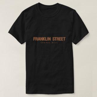 T-shirt Rue Chapel Hill la Caroline du Nord de Franklin