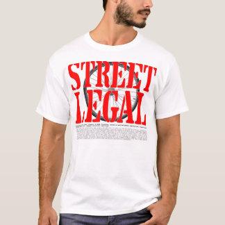 T-shirt Rue le Massachusetts juridique