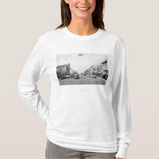 T-shirt Rue principale dans Walla Walla, photographie de