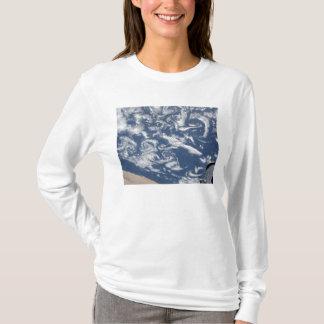 T-shirt Rues de vortex de nuage outre de la côte