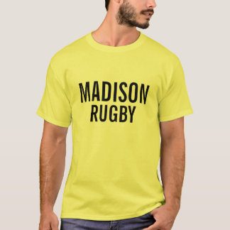 T-SHIRT RUGBY DE MADISON