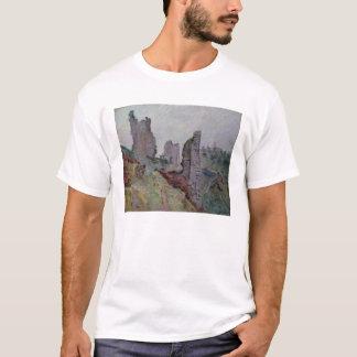 T-shirt Ruines dans le brouillard chez Crozant, 1894