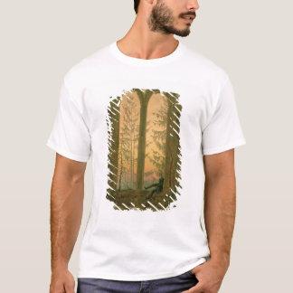 T-shirt Ruines du monastère 1835-40 d'Oybin