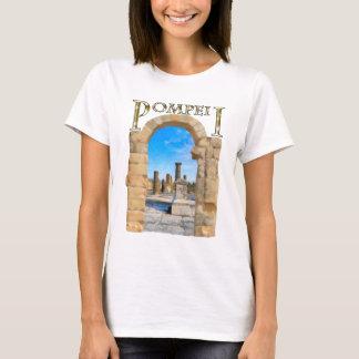 T-shirt Ruines romaines de Pompeii antique