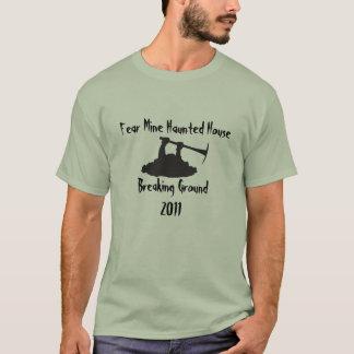 T-shirt Rupture de la terre