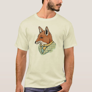 T-shirt rusé de renard