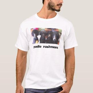 T-shirt rushmore de caniche