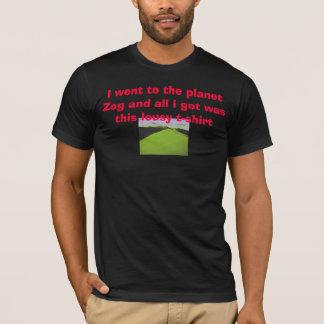T-shirt S1aa, je suis allé à la planète Zog et tous j'ai