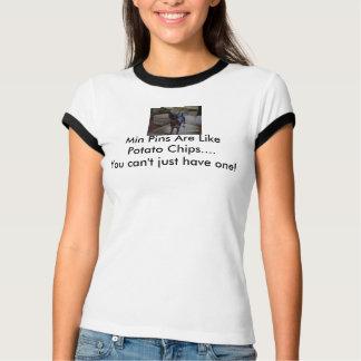 T-shirt s2d, les goupilles minimum sont comme des pommes