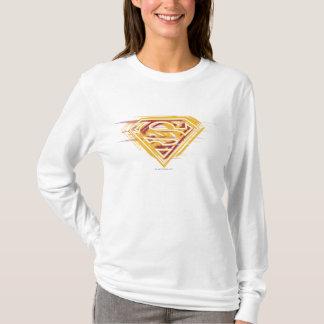 T-shirt S-Bouclier logo jaune et rouge de | de Superman