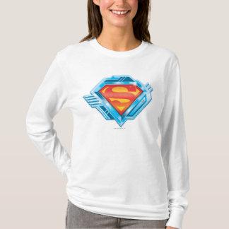 T-shirt S-Bouclier logo rouge et bleu de | de Superman en