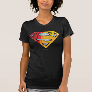T-shirt S-Bouclier logo rouge et orange de | de Superman