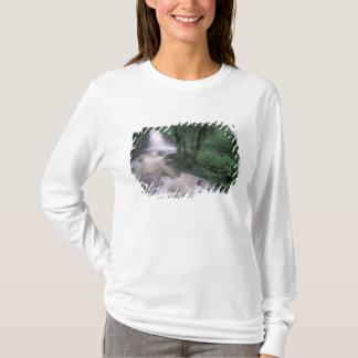 T-shirt SA, le Pérou, le S.H. Machu Picchu, la cascade et