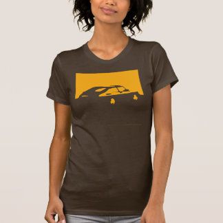 T-shirt Saab 900 SPG/Aero - jaunissez sur la chemise