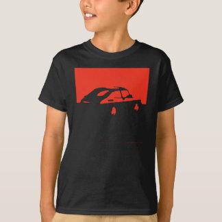 T-shirt Saab 900 SPG/Aero - rouge sur les chemises foncées